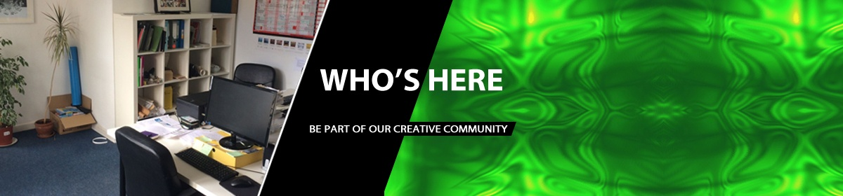Whos Here in our Creative Office spaces